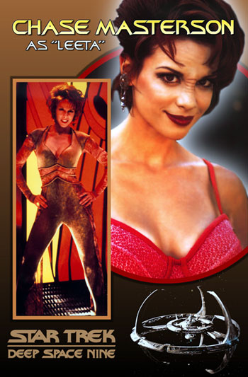 Chase Masterson - Leeta - Star Trek: Deep Space 9 - DS9