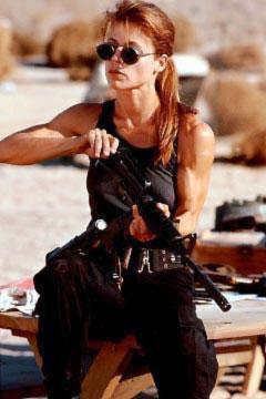 Linda Hamilton - Terminator - S...
